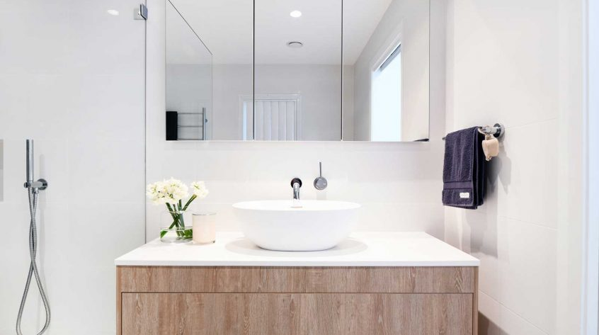 Bathroom vanity design & manufacture, luxury bathroom design, Palm Beach
