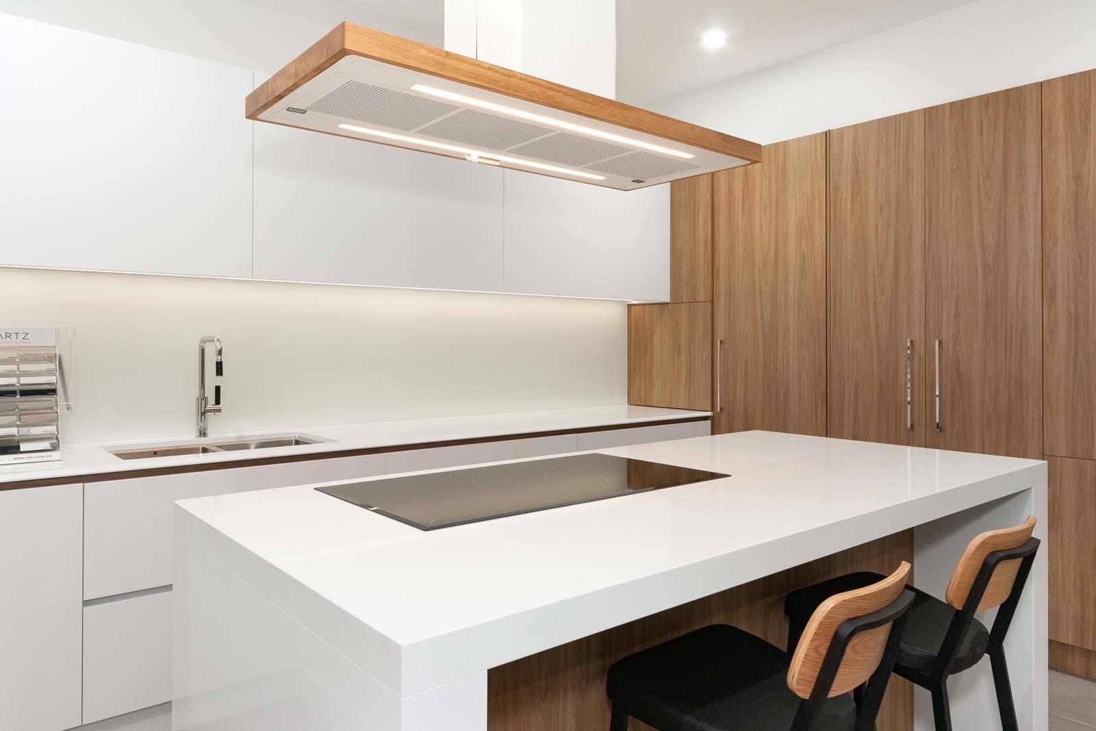 Minimalist Scandinavian Kitchen Design Drummoyne Premier Kitchens