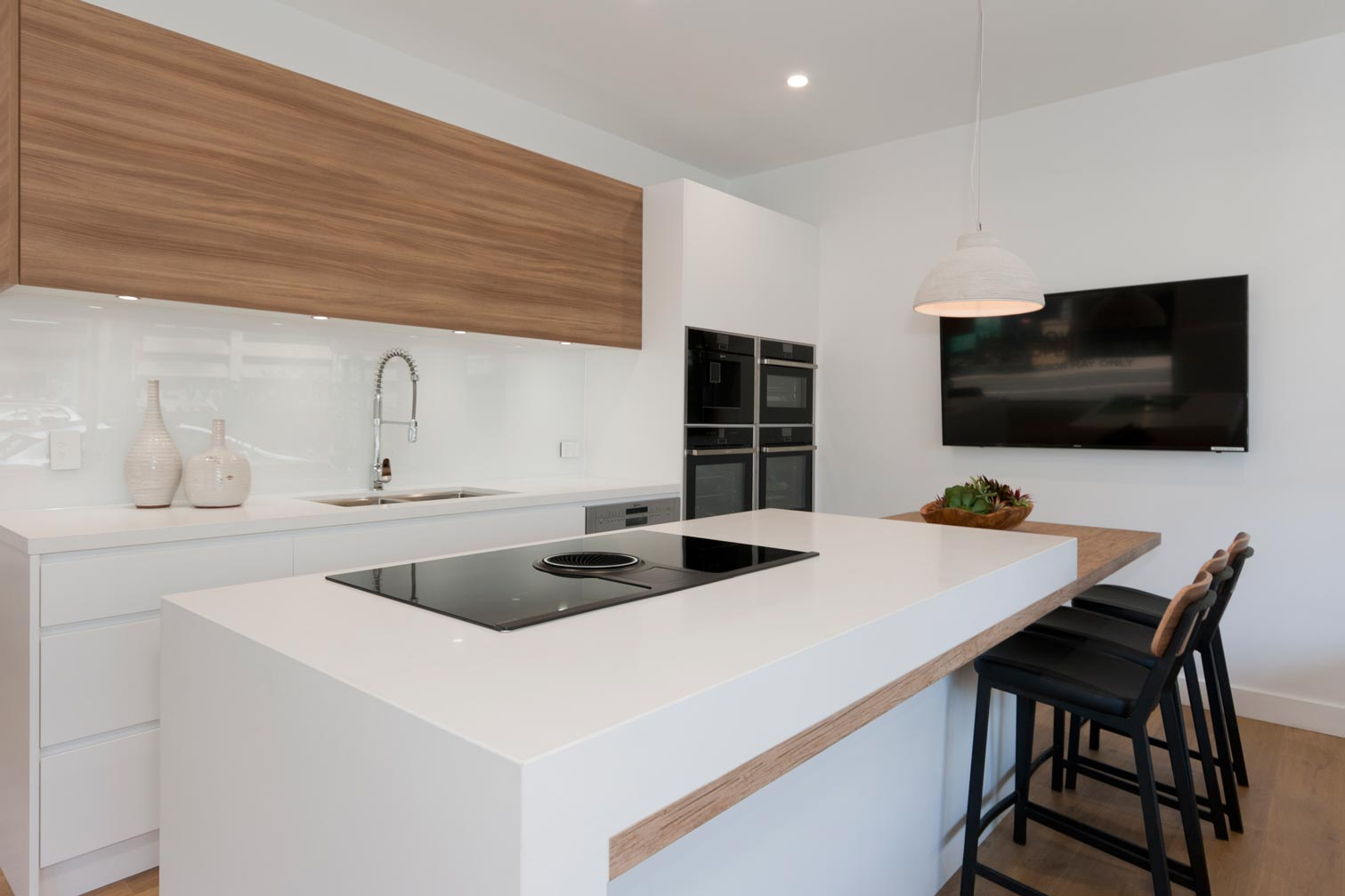 Uncategorized Modern Kitchen Designs Australia kitchen ideas image gallery premier kitchens australia modern scandinavian design featuring caesarstone pure white neolith la boheme benchtop dulux whisper