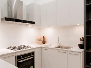 caesarstone-nordic-loft-polytec-kitchen-cabinets-caroma-tapware-clark-sink-premier-kitchens-showroom-display-willoughby-4b