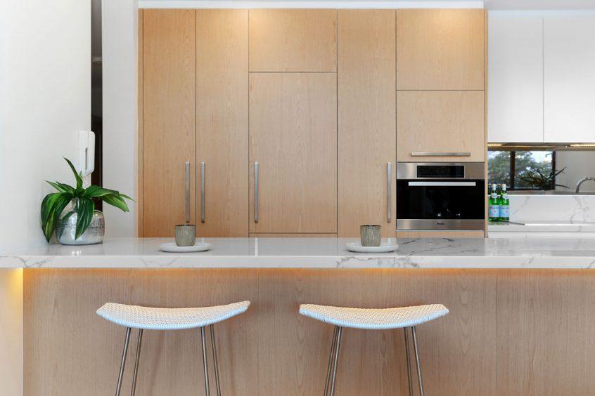 custom-kitchens-modern-kitchen-cabinet-design-quantum-quartz-carrara-laminex-veneer