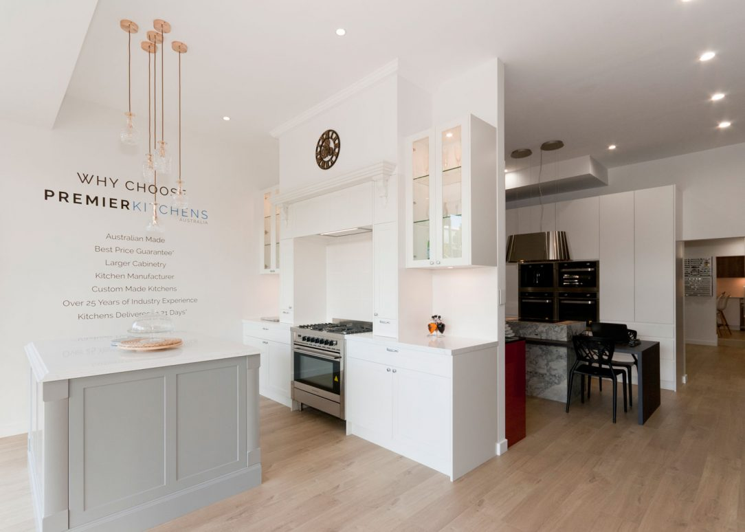 dulux-polyurethane-shaker-kitchen-cabinets-quantum-quartz-michelangelo-benchtop-premier-kitchens-showroom-display-willoughby-1c