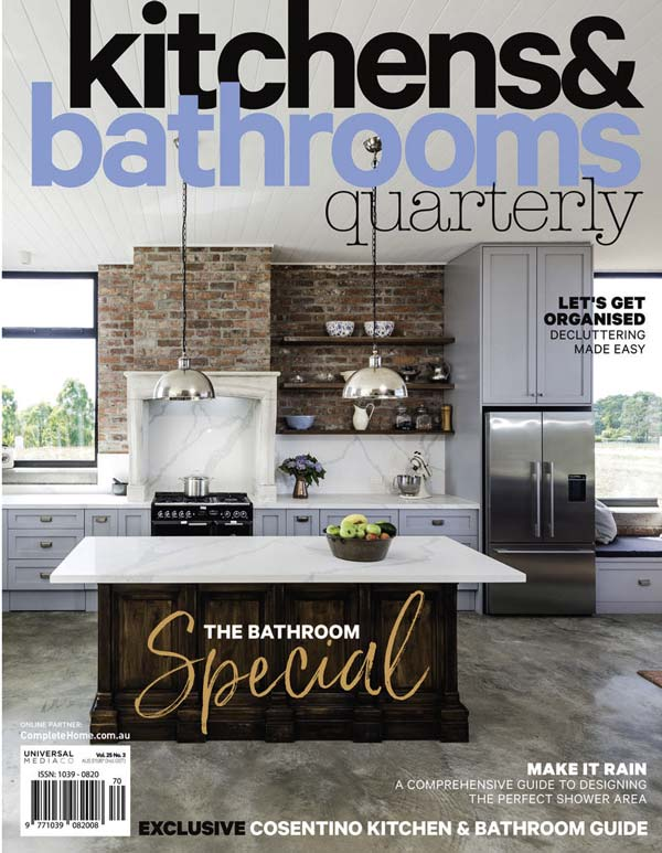 Kitchens and Bathrooms Quarterly Magazine Cover