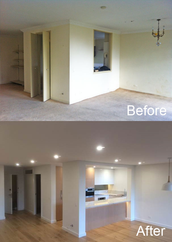 kitchen design photos before and after. Kitchen Design Before And After Wall Removal During Renovation Kitchen Design Guide For Renovators  Premier Kitchens Australia