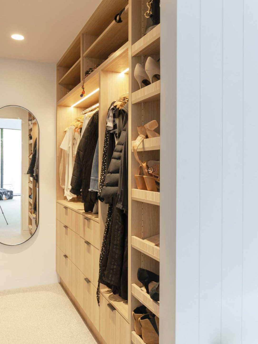 Custom wardrobe design by Premier Kitchens Australia
